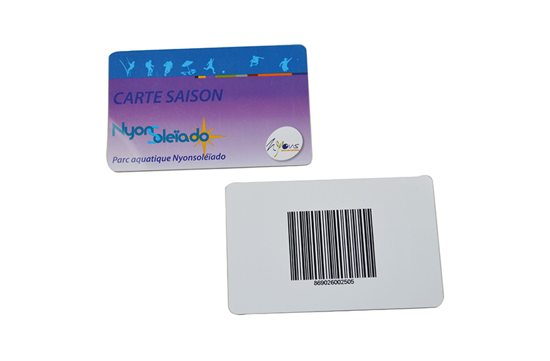 ISO PVC Card+Barcode